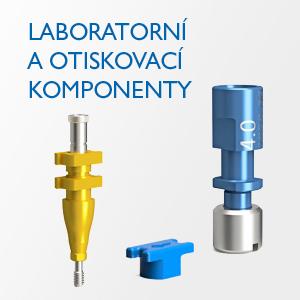 Laboratorní a otiskovací komponenty